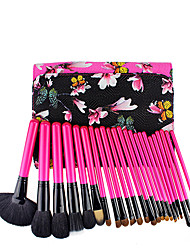 cheap -Fashion pattern professional animal hair 25 makeup brush sets of high-end beauty tools factory direct sales
