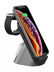 cheap -15W 3 in 1 Fast Qi Wireless Charger Station For iPhone 12 pro iPhone 11 Apple Watch Series Airpods pro