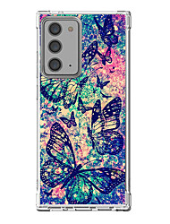cheap -Butterfly Case For Samsung Galaxy S21 Galaxy S21 Plus Galaxy S21 Ultra Unique Design Protective Case Shockproof Back Cover TPU