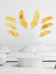 cheap -Landscape Wall Stickers Living Room, Removable Acrylic Home Decoration Wall Decal