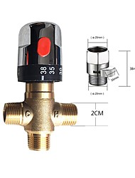 cheap -Constant Temperature Pipeline Valve 3-way Criss-cross Connector All Copper Body Water Heater Connectors Moisture Device