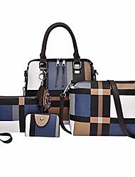 cheap -hot sale! clearance!  4pc women bag,todaies women 4 set handbag shoulder bags four pieces tote bag crossbody wallet 2019
