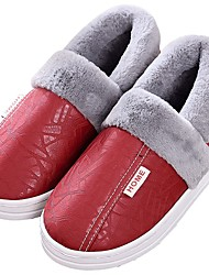 cheap -Women's Slippers House Slippers Casual PU Shoes