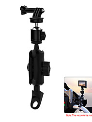 cheap -CS-1134B1 Universal Motorcycle Sports Camera Metal Fixing Holder Driving Phone Bracket Adjustable Mobile Holder Recorder