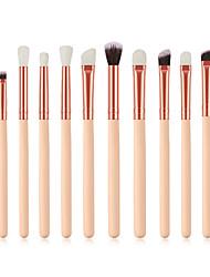 cheap -Explosive 12 eye brushes makeup brush set Skin tone makeup brush Eye shadow brush set Beauty tools