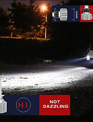 cheap -2PCS Head Light LED 12V Car 24V Truck  20W 6000K 5600 Lumens Extremely Bright CSP Chips Conversion Kit  IP67H1 H4 H7 H11 H13 9005 AL Material