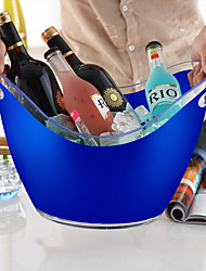 cheap -8 Liter Ice Bucket and Beverage Tub For Parties Drinks Weddings Bar Wine Champagne Beer
