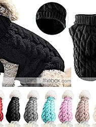 cheap -pet dog knitwear sweater,fashion turtleneck knitting pullover outwear pet clothes
