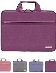 cheap -12 Inch Laptop / 13.3 Inch Laptop / 14 Inch Laptop Sleeve / Briefcase Handbags / Tablet Cases Polyester Solid Colored / Textured for Men for Women for Business Office Waterpoof Shock Proof