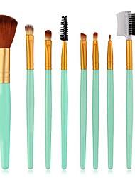 cheap -8pcs makeup brushes tools kit blush eyeshadow blending cosmetic beauty make up brush 4