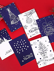 cheap -6pcs 1 Set Christmas Decorations Christmas Ornaments Cards