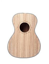 cheap -NAOMI 23 Inch Concert Ukulele Body Zebrawood Ukulele Body DIY Ukulele For 23'' Hawaii Guitar Ukulele Parts Accessories New