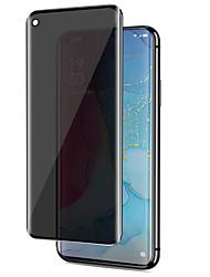 cheap -Vivo Screen Protector Vivo Nex 3 X50 Pro IQOO 5 Pro High Definition (HD) Front Screen Protector 1 pc Tempered Glass Anti Peeping