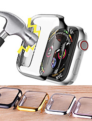 cheap -360 full Screen protector Bumper Ultra slim hard Case for Apple Series 3 2 38MM 42MM cover Band for iwatch 4 5 6 SE 40mm 44mm