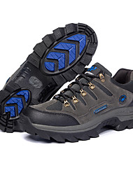 cheap -Men's Hiking Shoes Hiking Boots Breathable Non-Skid Wear Resistance Low-Top Camping / Hiking Hunting Fishing Autumn / Fall Winter Spring Army Green Grey Brown