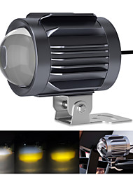 cheap -Automobile LED Headlights With Tricolour Blaster Convex Lens Motorcycle Spotlights Electric Vehicle Lights 20W 2000LM 6000K 4300K 3000K IPX7