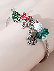 cheap -Women's Charm Bracelet Bracelet Thick Chain Butterfly Fashion European Cute Sweet Copper Bracelet Jewelry Green For Christmas Gift