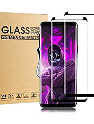 cheap -galaxy s8 plus screen protector,[2 pack] tempered glass with anti-fingerprint, bubble free, 9h hardness,hd screen protector film for samsung galaxy s8 plus[black]