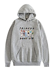 cheap -Inspired by Cosplay Stranger Things Friends Hoodie Polyster Top For Unisex