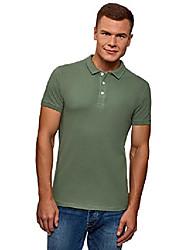 cheap -ultra men's pique polo shirt, green, us 42-44 / eu 52-54 / l