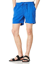 "cheap -men's 5"" inseam beach shorts indigo 32"