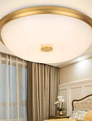 cheap -42 cm Ceiling Light Flush Mount Gold Living Room Bedroom Modern Metal Electroplated 110-120V 220-240V