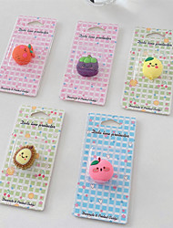 cheap -Bag / Phone / Keychain Charm Portable / Lovely Silica Gel iPhone 8 Plus / 7 Plus / 6S Plus / 6 Plus