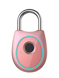 cheap -Smart Lock Keyless Fingerprint Lock Anti-Theft Security USB Rechargeable Padlock Home Door Bag Luggage Case Lock Door-Padlocks