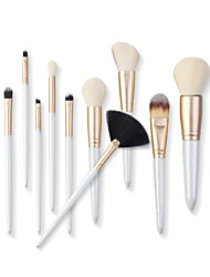 cheap -10 Makeup Brush Set Make-Up and Beauty Tools Soft and Comfortable