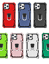 cheap -Case For scene map iPhone 12 11 Pro Max XS Max lightning armor series PC TPU two-in-one four-corner anti-fall invisible bracket all-inclusive mobile phone case