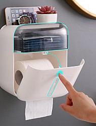 cheap -Toilet Tissue Box Home Punch-Free Creative Waterproof Double Warehouse Tissue Box Rack Bathroom Tray
