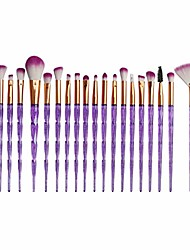 cheap -20 pcs makeup brush set, sfe make up foundation eyebrow eyeliner blush cosmetic concealer brushes