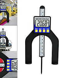 cheap -Digital Depth Gauge Digital Tread Depth Gauge 80mm Self-standing Aperture Magnetic LCD Handheld Router