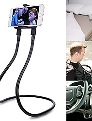 cheap -cell phone holder, universal mobile phone stand, lazy bracket, diy flexible mount stand with multiple function (black)