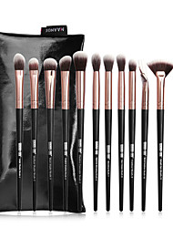 cheap -12 Makeup Brushes Set Makeup Tools Beauty Tools A Complete Set Soft and Comfortable
