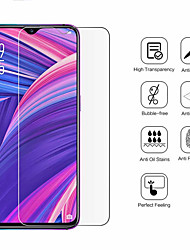 cheap -OPPO Screen Protector OPPO A5 2020 A9 2020 Realme 5 Realme X2 Realme XT Realme X2 Pro Realme X50 K5 Reno Ace Reno 3 A11 High Definition (HD) Front Screen Protector 1 pc Tempered Glass