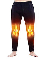 cheap -heated pants usb electric heated pants electric thermal heating trousers men/women (battery not included) (black-men, l)