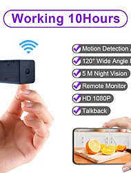 cheap -WD9 Portable WiFi IP Mini Camera P2P Night Vision Wireless Micro Camcorder Video Recorder Support Remote View on Phone