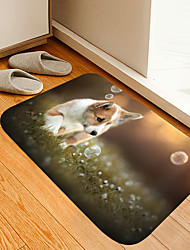 cheap -Bubble Corgi Digital Printing Floor Mat Modern Bath Mats Nonwoven Memory Foam Novelty Bathroom