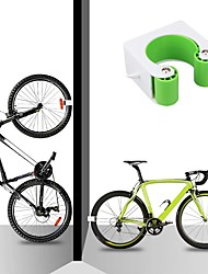 cheap -2pcs Bicycle Wall Mount Hook Bicycle Parking Rack Mountain Bike Buckle Stand Holder Cycling Accessories
