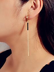 cheap -Women's Dangle Earrings Link / Chain Trendy Earrings Jewelry Gold For Date Festival