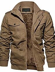 cheap -military jacket men cargo jacket men thick tactical jackets men casual jacket army coat men hiking jacket khaki