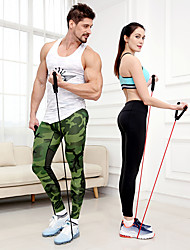 cheap -Pedal Resistance Band Exercise Resistance Bands Resistance Band / Exercise Tube 1 pcs Sports Latex Home Workout Gym Workout Exercise & Fitness Portable Non Toxic Stretchy Strength Training Durable