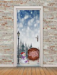 cheap -Christmas Decorative Wall Stickers - Plane Wall Stickers / 3D Wall Stickers Holiday / 3D Living Room / Nursery