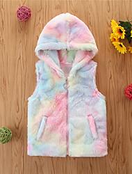 cheap -Kids Girls' Basic Tie Dye Sleeveless Tank & Cami Rainbow