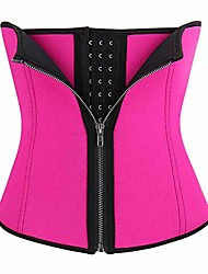 cheap -Corset Women's Plus Size Sport Tummy Control Adjustable Solid Color Hook & Eye Others Neoprene Running Gym Walking Driving Fall Winter Spring Summer Blue Purple Black