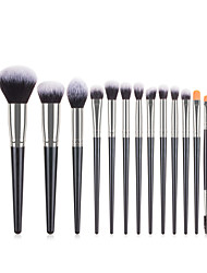 cheap -Professional Makeup Brushes 16pcs Cute Soft New Design Full Coverage Comfy Plastic for Makeup Tools Blush Brush Foundation Brush Makeup Brush Lash Brush Eyebrow Brush Eyeshadow Brush