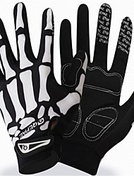 cheap -Full Finger Unisex Motorcycle Gloves Microfiber / Silica Gel / Polyester Fabric Breathable / Wearproof / Professional