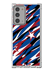 cheap -American / USA USA Case For Samsung S20 Plus S20 Ultra S20 Unique Design Protective Case Shockproof Back Cover TPU