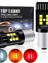 cheap -2PCS P21W Led Ba15s 1156 Signal Lamp 1157 Led Bay15d P21/5w  Bulb NEW 3030SMD 12LED Canbus Turn Brake Backup Light 12V